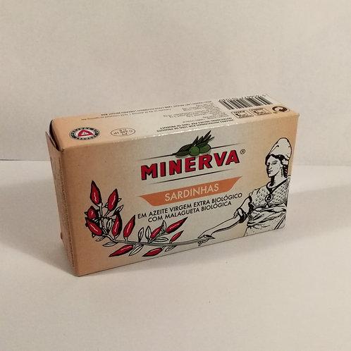 Minerva Sardinhas com Malagueta Bio 250g