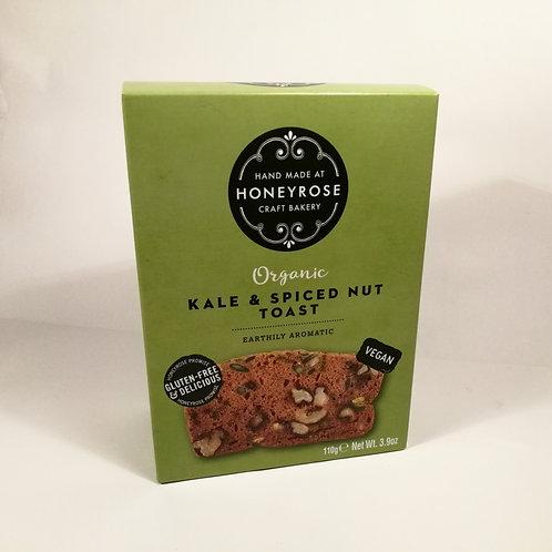 Honeyrose Bolachas de Kale e Especiarias 110g