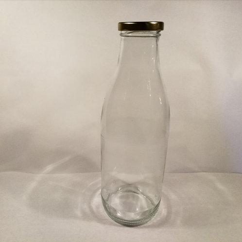 Garrafa de vidro 1L