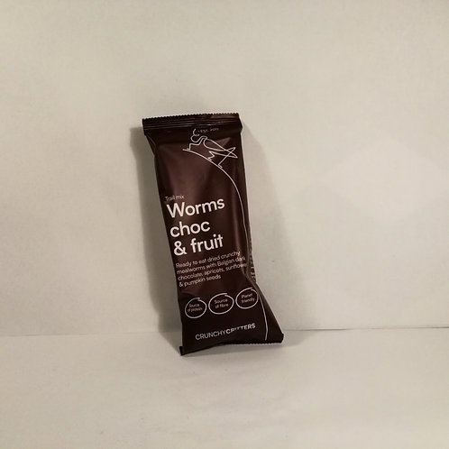 Worms Choc and Fruit