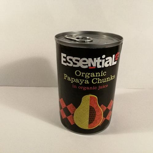 Essential Papaya em Bocados 400g