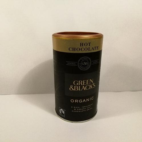 Green & Blacks Chocolate Quente