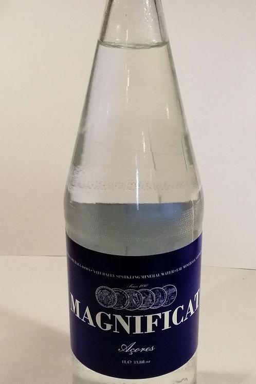 Agua gaseificada Magnificat 1L em Vidro
