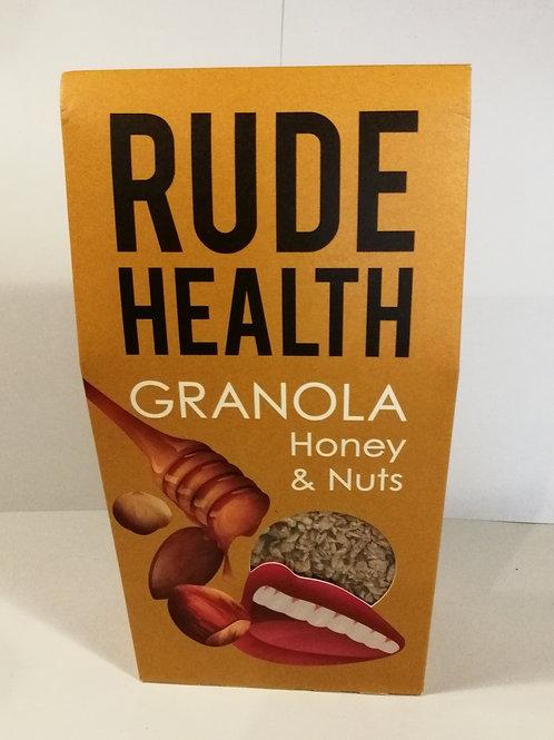 Rude health granola de mel e nozes 500g