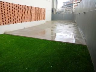 Instalación de Suelo de Concreto, Ph Casa Blanca, Santa Maria, Costa del Este, Panamá