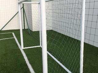 Instalación de Protector Deportivo en Cancha de Fútbol, Panamá