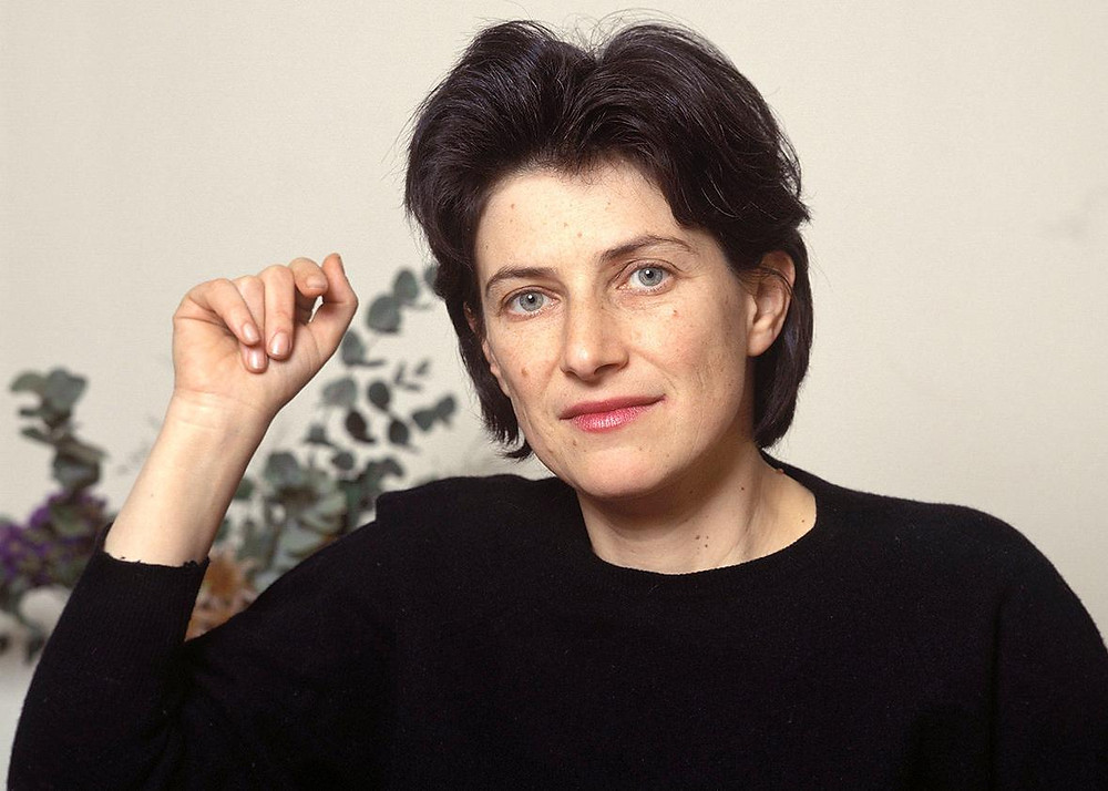 Chantal Akerman at home in France in 1992. Photo by Louis Monier/Gamma-Rapho via Getty Images