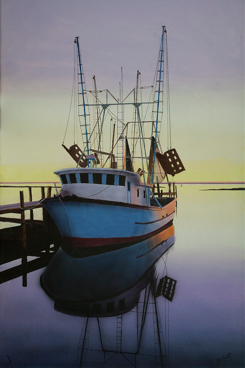 Georgia Shrimper  (24x16)