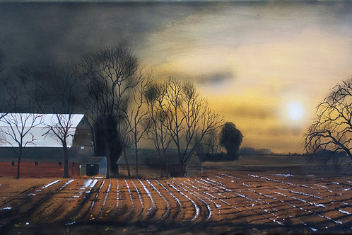 The Last of the Apple Trees (14x30)