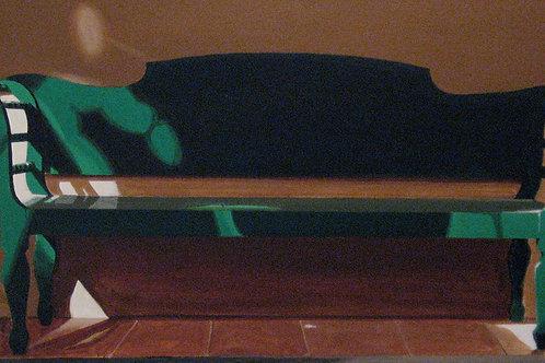Green Bench (18x40)