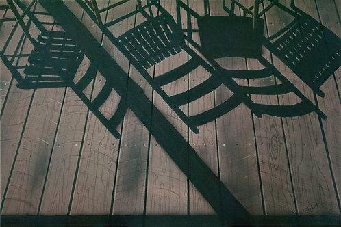Porch Shadows  (14x21)