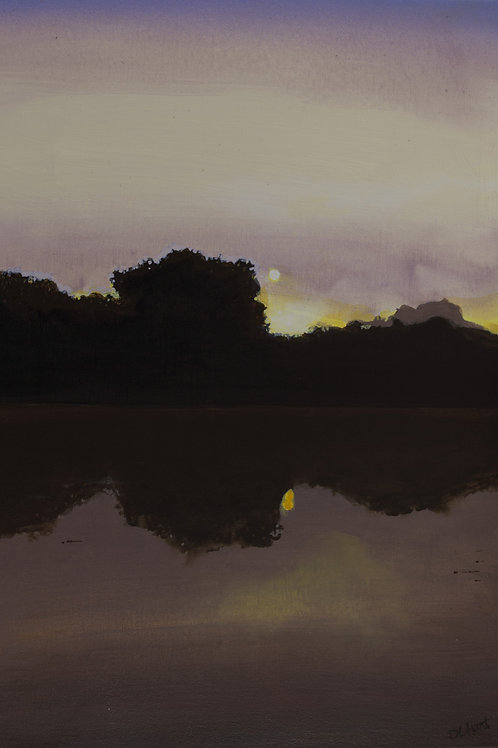Misty Lake2  (20x14)