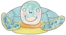 RWN Terrence the sea turtle