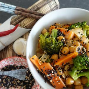 Thai-Curry mit Kichererbsen