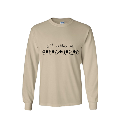 Sand I'd Rather Be Secure Long Sleeve