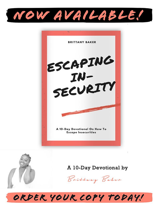 Escaping Insecurity Devotional