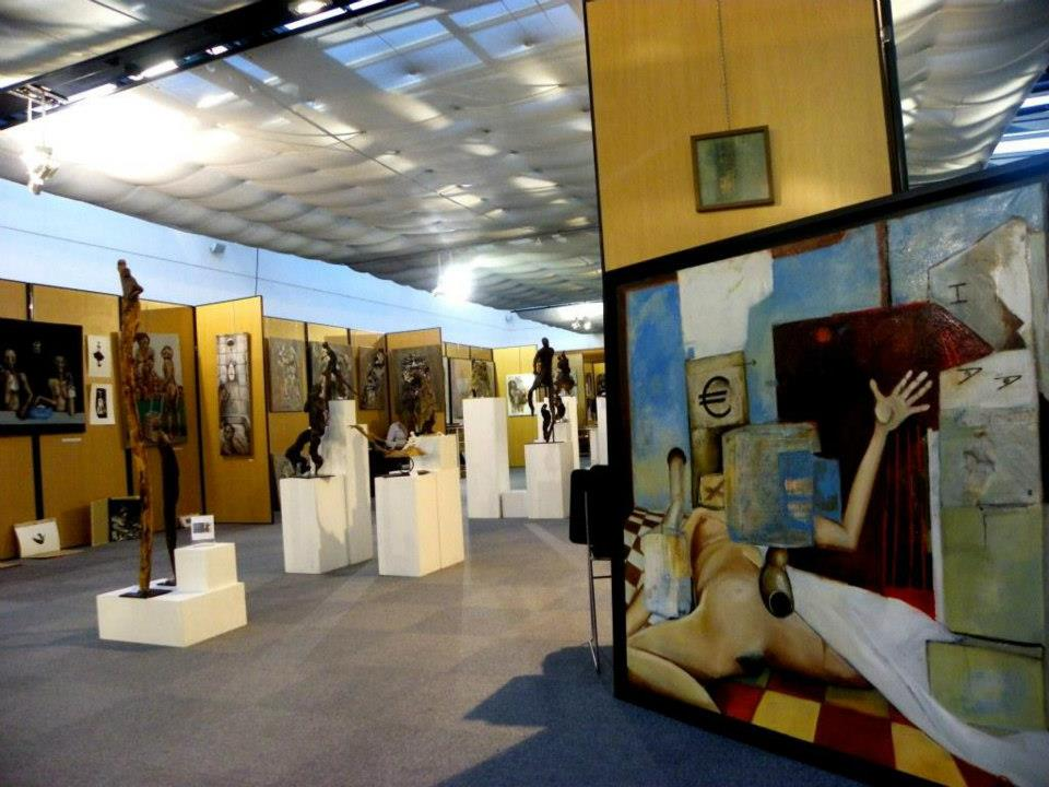 expo à  Elan d'art Montpellier )
