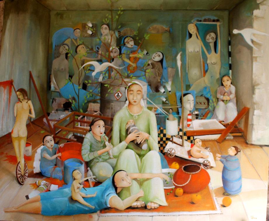 domus dei sapieniam huile sur toile 190  x 160.jpg