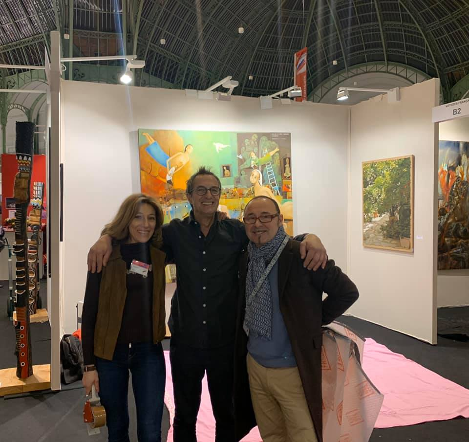 exposition au salon des artistes français Paris 2020