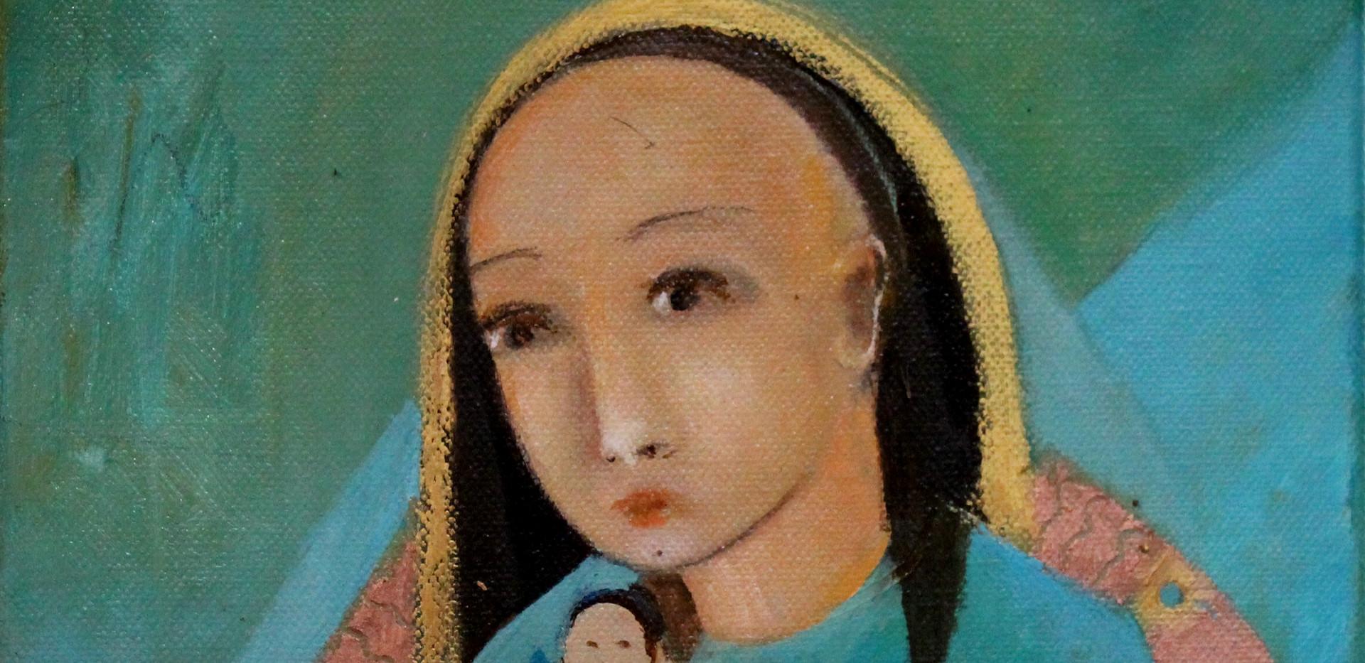 vierge à la poupée