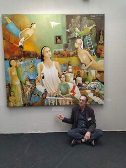 Oeuvre primé au salon des artistes franç