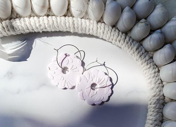 Flower hoops