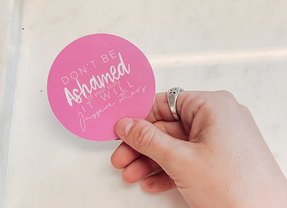 Circle Quote Stickers