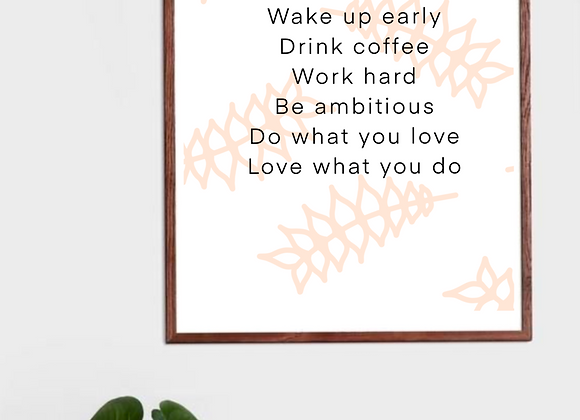 Art prints Quotes collection