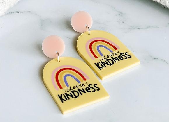 Choose Kindness Acrylic Dangles