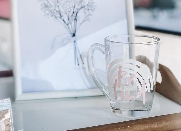 Glass mugs