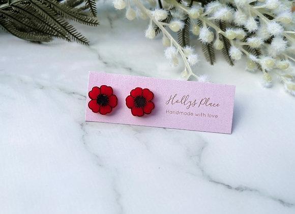 Poppy studs