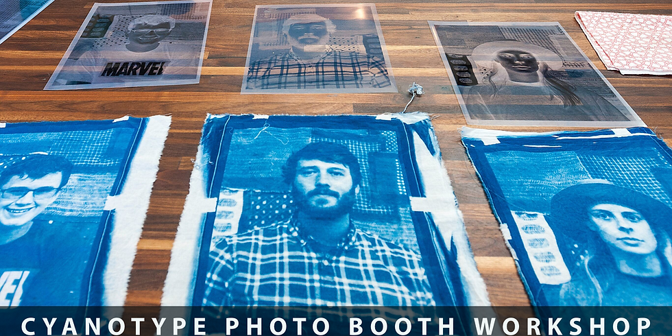 Cyanotype Photo Booth Workshop