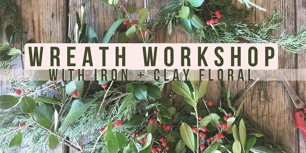 Wreath-Making Workshop! 🍃