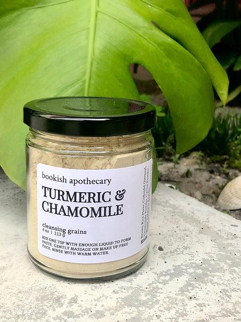 Turmeric + Chamomile Smooth Facial Scrub