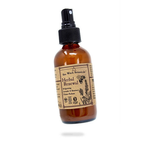 Spray Perfume - Herbal Renewal, Lavender, Rosemary