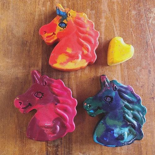 Unicorn Rainbow Crayons