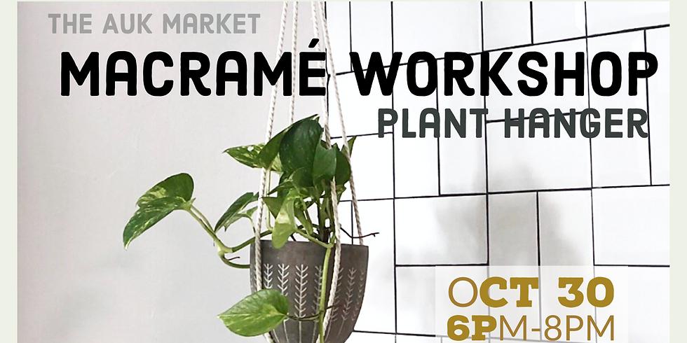 Macramé Workshop / Plant Hanger