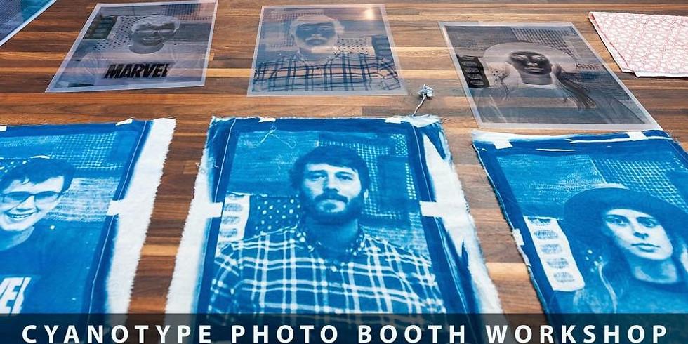 Cyanotype Photo Booth!