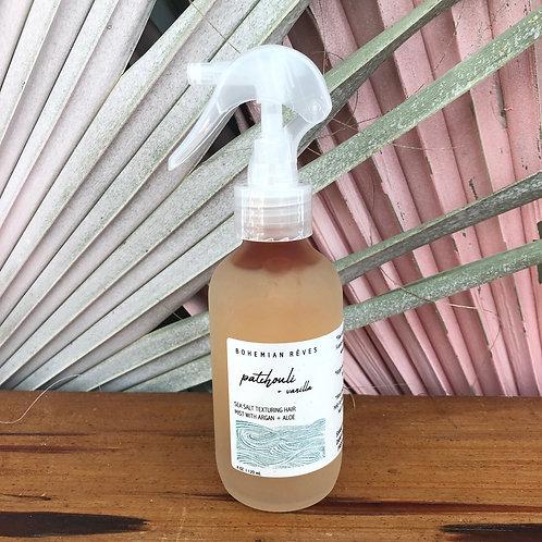 Patchouli Vanilla Sea Salt Texturizing Hair Mist