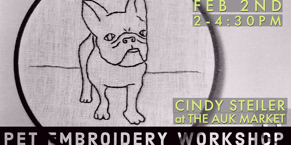 Pet Embroidery Workshop