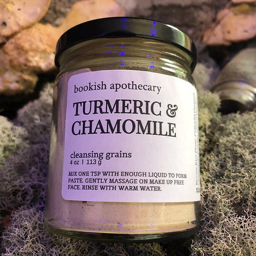 Cleansing Grains /  Turmeric & Chamomile