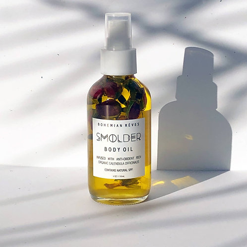 Smolder Calendula Infused Body Oil