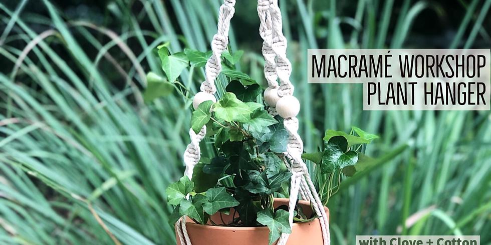 Plant Hanger Macramé Workshop