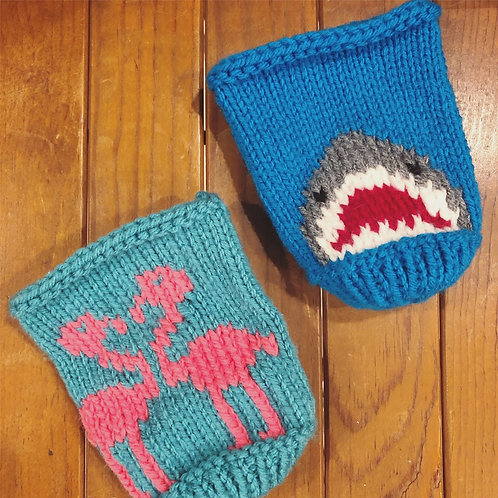 Knitted Coozies