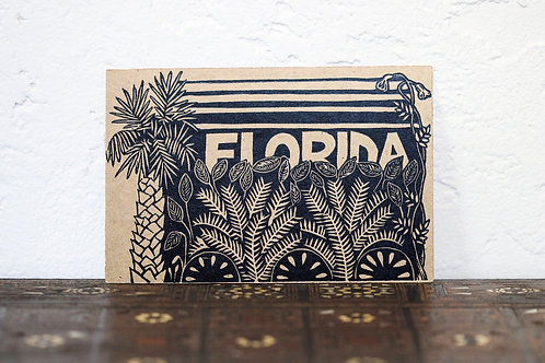 Linocut Art Cards by Open Door Prints