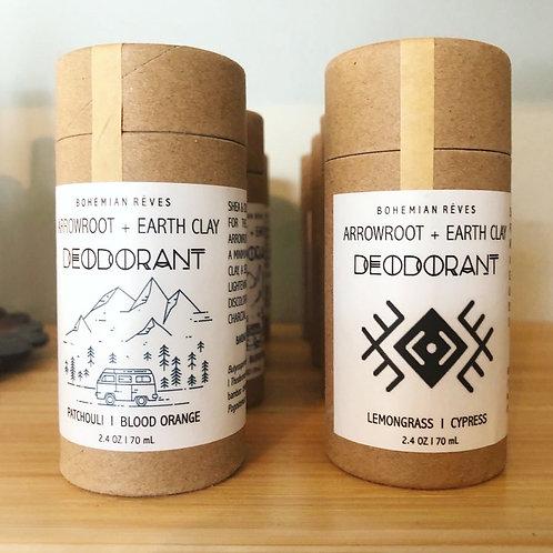 Arrowroot + Earth Clay Deodorant