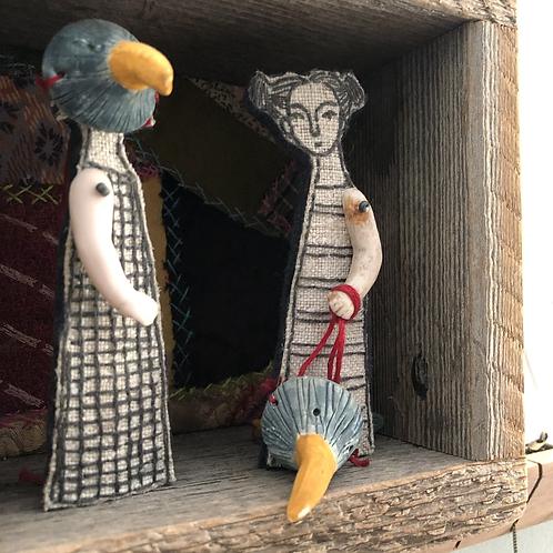 Original Artwork! // Diorama Boxes by Cindy Steiler