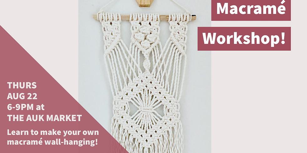 Learn the Ropes / Macramé Workshop!