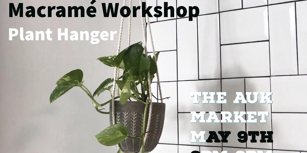 Macramé Workshop / Plant Hanger!