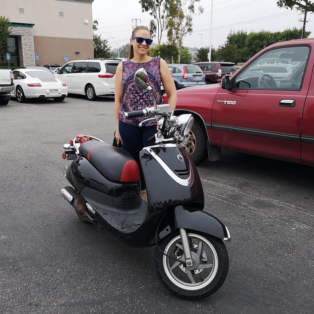 Scooter Girl of Orange County